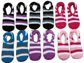 12 Pack Of excell Womens Fuzzy Slipper Socks With Gripper Bottom, Assorted Colors - Womens Fuzzy Socks