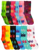 WSD Womens Value Pack Printed Crew Socks Many Colors, Soft Touch Fun Prints (Pack L) - Womens Crew Sock