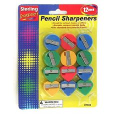 72 Units of Fun shape pencil sharpeners - Sharpeners