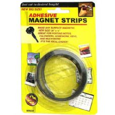 72 Units of Adhesive magnet strips - Tape