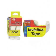 72 Units of 2 Pack invisible tape dispensers - Tape