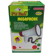 6 Units of Compact megaphone with speak and music switch - TEACHER/STUDENT