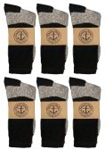 12 Pairs of excell Women's Thermal Tube Socks, Sock Size 9-11 - Womens Thermal/Sweater/Boot