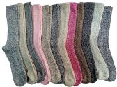 12 Pairs Of excell Womens Extreme Weather Wool Boot Socks Size 9-11 - Mens Thermal Sock