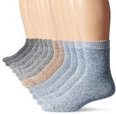 12 Pairs Of Mens excell Merino Wool Blend Thermo Insulating Hiking Boot Socks