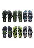 96 Units of Men's Assorted Printed Flip Flops - Men's Flip Flops & Sandals