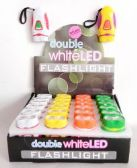 72 Units of Double White LED Mini Flashlight
