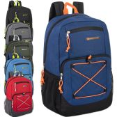 "24 Units of Urban Sport 18 Inch Deluxe Bungee Backpack With Padding - Backpacks 18"" or Larger"