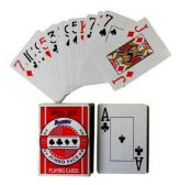 48 Units of Plastic Coated Jumbo Face Playing Cards - Card Games