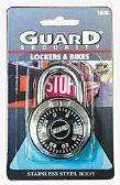 24 Units of Guard Combination Lock Hardewned Steel - Padlocks/Combination Locks/Brass/Iron