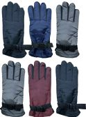 6 Units of 6 Pack of SOCKSNBULK Womens Winter Warm Waterproof Ski Gloves, One Size Fits All - Ski Gloves