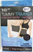 48 Units of Tummy Trimmer Neoprene Wrap 10 Inch For Men and Women - Bandages and Support Wraps