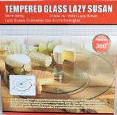 15 Units of Tempered Glass 10 inch Lazy Susan