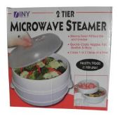 12 Units of 2 Tier Microwaveble Steamer - Pots & Pans