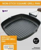 10 Units of Non Stick Square Grill Pan with Folding Handle Kitchen BBQ Camping - Pots & Pans