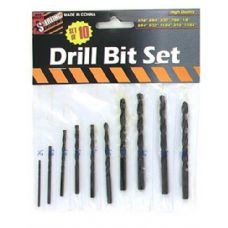 75 Units of 10 Pack drill bit set - Drills and Bits