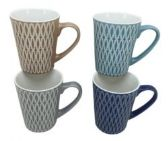 48 Units of Stoneware Mug 11 ounce