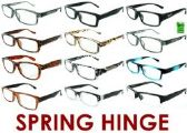 300 Units of 4.00 Reading Glasses with Spring Hinge