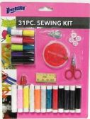 72 Units of 32 Piece Sewing Kit Set - Sewing Supplies
