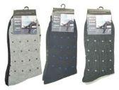 144 Units of 2 pack Mens Dress Socks - Mens Dress Sock