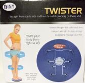 20 Units of Twister Twist Your way to a Trimmer Waist Exercise - Workout Gear