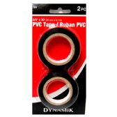 """72 Units of 2 PIECE 5/8""""X30' PVC TAPE PACK - Tape"""