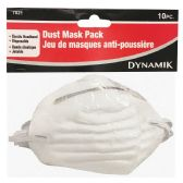 72 Units of 10 PIECE DUST MASK