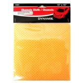 72 Units of DYNAMIK Brand Chamois Cloth - Auto Cleaning Supplies