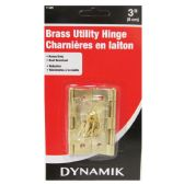 """72 Units of 2 PIECE. 3"""" BRASS UTILITY HINGES"""