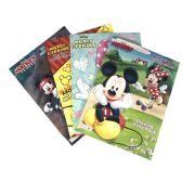 72 Units of COLORING BOOK 96 PG ASTD MICKEY & FRIENDS-BIG FUN BOOK TO COLOR