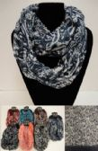 72 Units of Extra-Wide Light Weight Infinity Scarf [Lg Paisley]