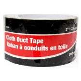 24 Units of CLOTH DUCT TAPE BLACK 7M - Tape