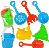 72 Units of 7 Piece Mini Sand Pail Playsets