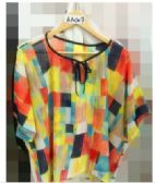 24 Units of Women Multi Colored Top - Womens Fashion Tops