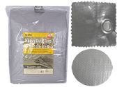 12 Units of Heavy Duty Tarp 20 ft x 30 ft Silver - Tarps