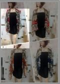 24 Units of Womens Fashion Summer Scarf Top Multi Colored