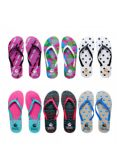 96 Units of Women's Assorted Print Flip Flops - Women's Flip Flops