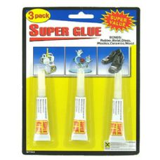 72 Units of 3 Pack super glue