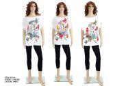 72 Units of Womens Fashion Printed Blouse - Womens Fashion Tops