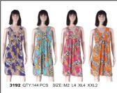 72 Units of Womens Printed Sundress - Womens Sundresses & Fashion