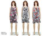 48 Units of Womens Fashion Rose Sundress - Womens Sundresses & Fashion
