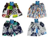 144 Units of Kid's Swimming Trunks 4 Asst Designs