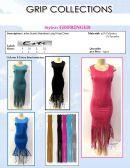 72 Units of Ladies Summer Dress With Fringes - Womens Sundresses & Fashion