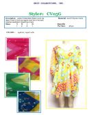 48 Units of Ladies Printed Mesh Beach Cover Up Assorted Prints - Women's Cover Ups