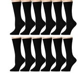 WSD Womens Value Pack Printed Crew Socks Many Colors, Soft Touch Fun Prints (Pack K) - Womens Crew Sock