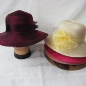 24 Units of Womens Fashion Summer Hat With Bow - Sun Hats