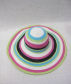 36 Units of Womens Multicolored Summer Sun Hat - Sun Hats