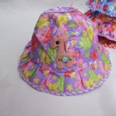 48 Units of Girls Summer Bucket Cap Floral - Bucket Hats