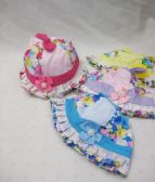 48 Units of Baby Summer Sun Hat Floral