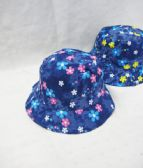 48 Units of Toddlers Bucket Hat Floral - Bucket Hats